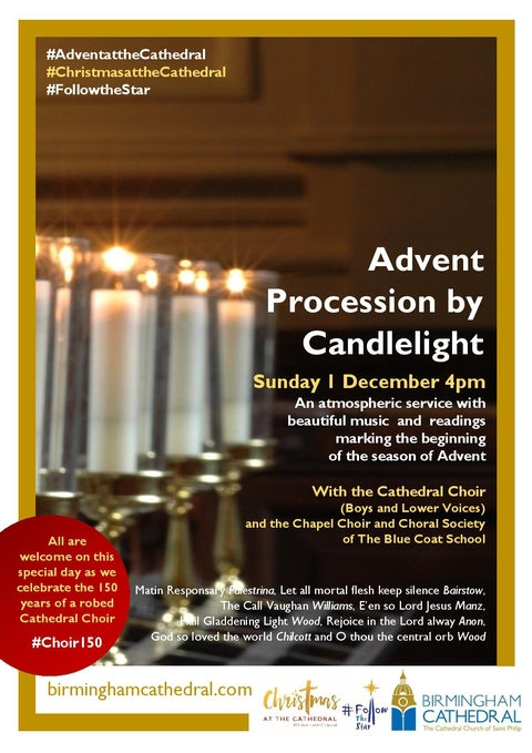 Advent Procession by Candlelight