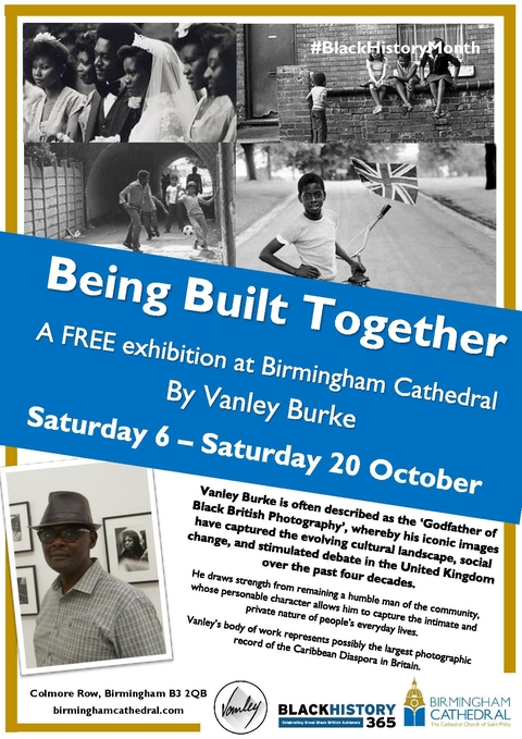 An exhibition by Vanley Burke - Black History Month