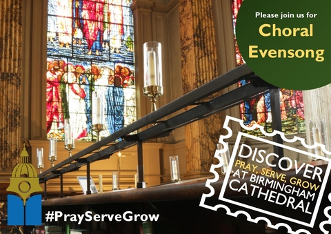 Choral Evensong at Birmingham Cathedral