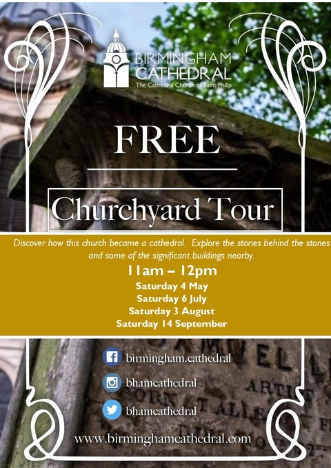 A free guided tour of the Churchyard