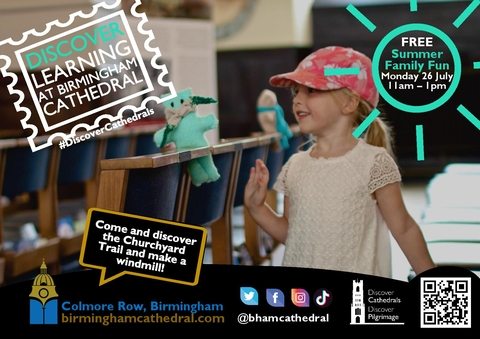 FREE Summer Family Fun Event in Cathedral Square