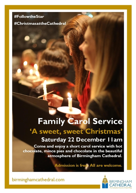 Family Carol Service 'A sweet, sweet Christmas'