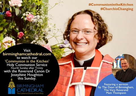Watch 'Communion in the Kitchen' with Canon Josephine