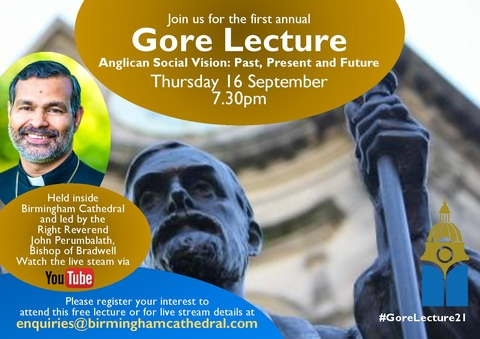 The First Annual Gore Lecture - Anglican Social Vision: Past, Present and Future