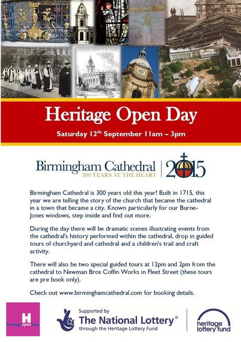 2pm Guided Tour to The Coffin Works For Heritage Open Day