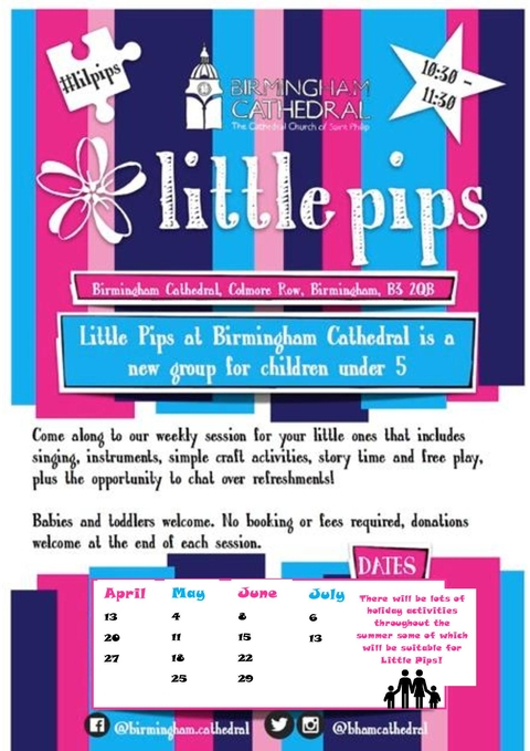 Free Toddler Group Little Pips